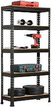 Yaheetech Etagères de Rangement 150 x 70 x 30 cm Étagère Metallique Atelier/Garage/Cuisine Charge Lourde 150 kg par Niveau...