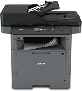 Brother Monochrome Laser Printer, Multifunction Printer, All-in-One Printer, MFC-L5900DW, Wireless Networking, Mobile Printing & Scanning, Duplex Print, Copy & Scan, Amazon Dash Replenishment Ready