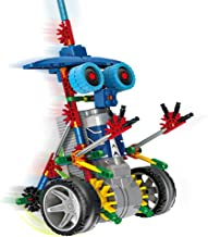 HAHAone [ Motorial Alien Robot ] Robotic Building Set Block Toy ,Battery Motor Operated,3D Puzzle Design Alien Primate Robot Figure for Kids and Adults , Sturdy Enough , 120 Parts(Elf Knights)