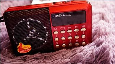 Wholesale RedSun RS-033U Digital Selects Music Player /FM Radio Portable Radio Recorder