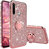 Compatibile con Cover Xiaomi Redmi Note 8T, Glitter Strass Diamante Bling Diamanti Custodi...