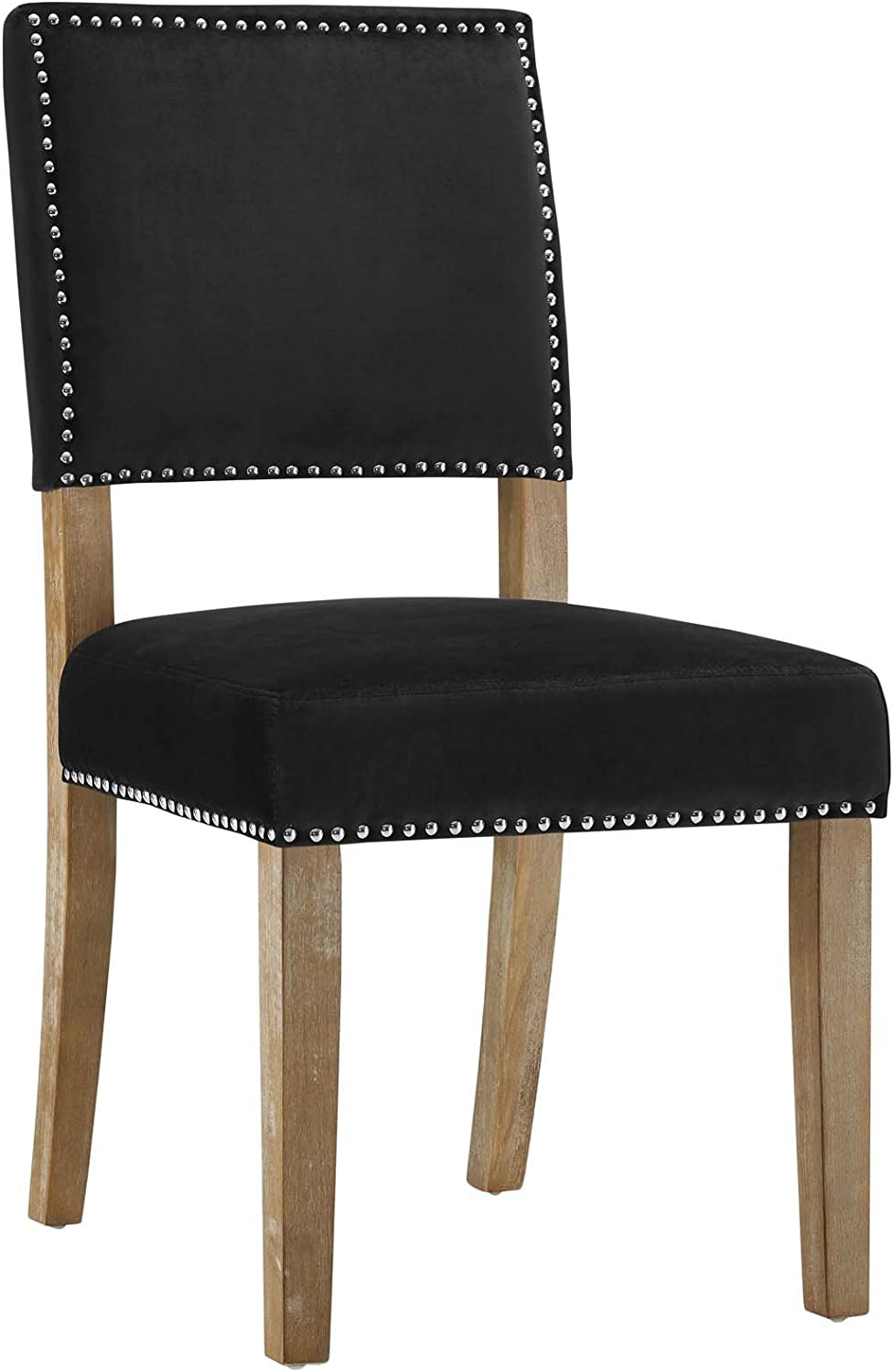 Modway Oblige Wood Dining Chair, Black