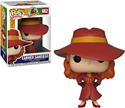 Carmen Sandiego: Where in The World is Carmen Sandiego? x Funko POP! TV Vinyl Figure & 1 POP! Compatible PET Plastic Graphical Protector Bundle [#662 / 32039 - B]