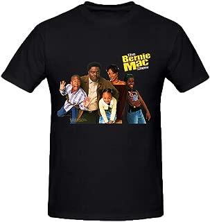 NIWAHO Design The Bernie Mac Show T Shirt Cotton O neck Men Black