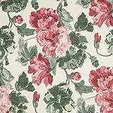 NOVELY® HANAU Fleur Polsterstoff Blumen Rosen floral