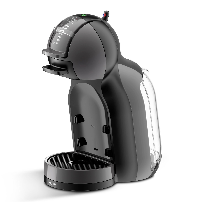Pack Krups Dolce Gusto Mini Me KP1208 - Cafetera de cápsulas, 15 bares de presión, color negro y gris + 3 packs de café Dolce Gusto Espresso Intenso: Amazon.es: Hogar