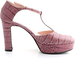 ANNA F Luxury Fashion Womens 1187PINK Pink Heels | Fall Winter 19
