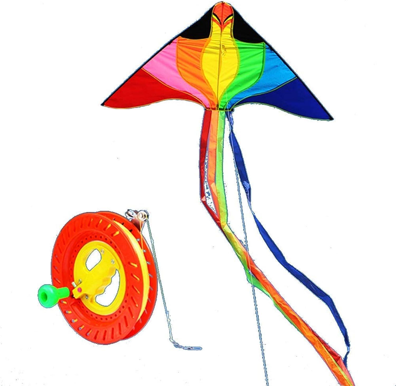 barato en alta calidad Cometa Dibujos Animados Infantiles De 2 Metros, Metros, Metros, Cocherete, Fácil De Volar. (Color   E)  protección post-venta