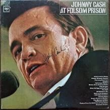 johnny cash signed record