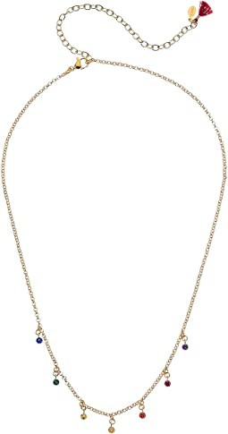 Bezel Multi Necklace