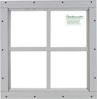 Best 12x12 shed window Reviews