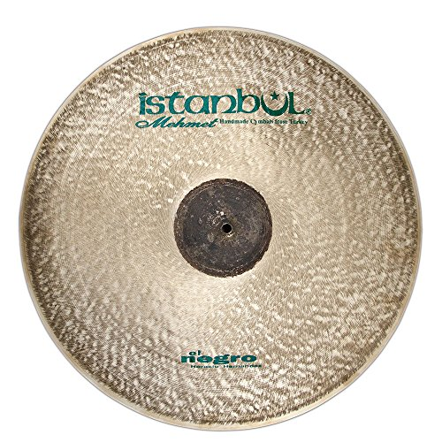 Istanbul Mehmet Cymbals Prato de impacto HH-C17 da série Signature HH-C17, 43 cm Horacio El Negro Hernandez