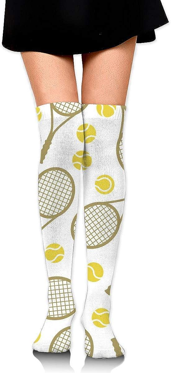Womens Tennis Rackets And Balls High Socks unisex Thigh The Finally resale start Over