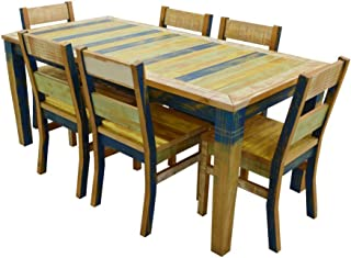 The Beach House Design Sunrise Collection Dining Set: 1 71