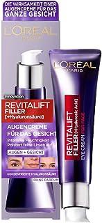 L'Oréal Paris Augenpflege, Revitalift Filler, Anti-Aging Augencreme für das..