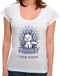 Camiseta I Know Nothing - Feminina