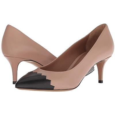 Emporio Armani Bicolor Heel (Black/Nude) Women