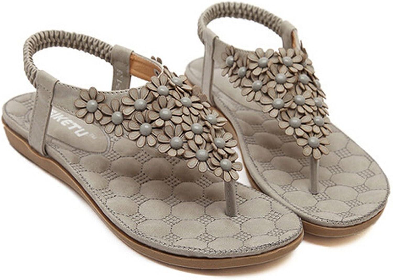 San hojas Flower Sandals Summer Beach shoes Student Girls Pink