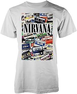 Nirvana Cassettes T-Shirt Bianco