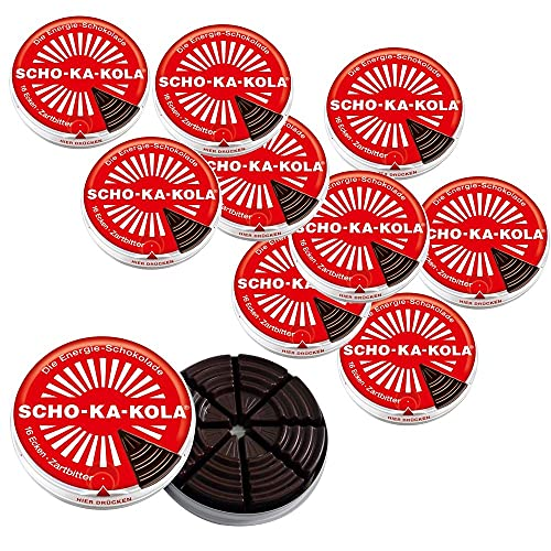 SCHO-KA-KOLA Original, 10er Pack (10 x 100 g)