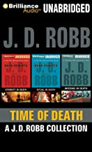 Time of Death: A.J.D. Robb CD Collection: Eternity in Death, Ritual in Death, Missing in Death