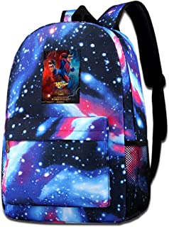 Mochila de Viaje de Mochila Escolar, Danger TV Show of Henry Backpacks Galaxy School Backpack Travel School Bags Shoulder Laptop Bag For Men Women Kids