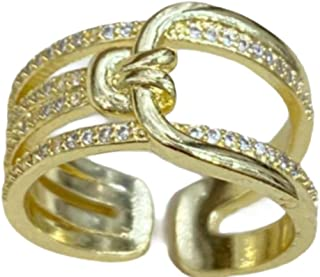 WOMEN'S SILVER & GOLD RINGS