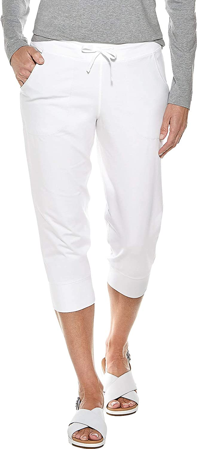Coolibar UPF 50+ Women's Maho Weekend - Joggers Protect Regular store Complete Free Shipping Crop Sun