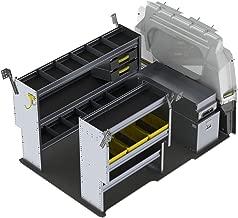 Ranger Design Aluminum Van Shelving Package, RAM ProMaster City – PMD-27