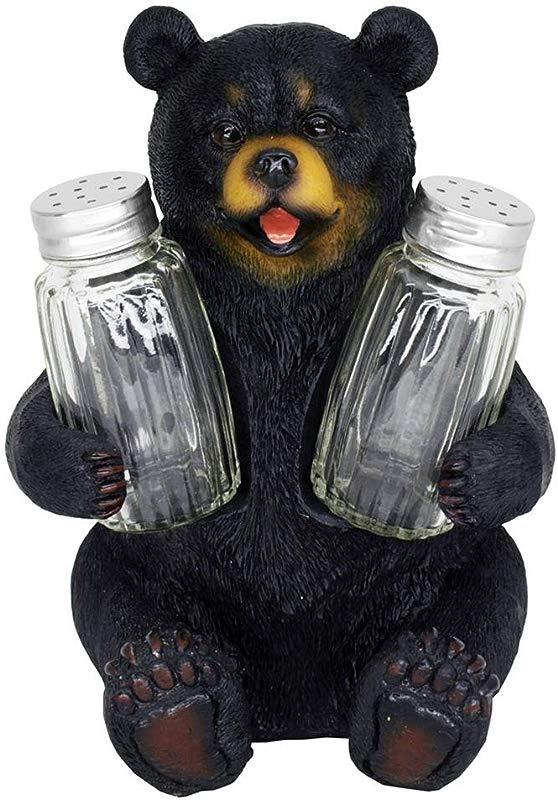 Beary Seasoned Bear Salt And Pepper Shaker Set