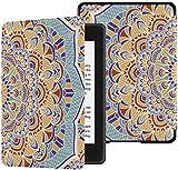 Funda para Nuevo Kindle Paperwhite Mandala Moda geométrica étnica Kindle Paperwhite Funda décima Funda con activación automática/Reposo décima Funda Kindle Paperwhite Funda décima generación 2018
