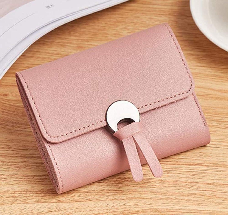 Girls Purse Women's Wallet,Short Miss 30 Percent Wallet PU Leather (color   A)
