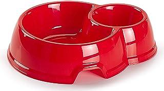 وعاء بلاستيكي مزدوج للحيوانات الأليفة -11416