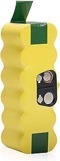 【Amazon限定ブランド】向 ルンバ用交換バッテリー 500/600/700/800/900 シリーズ 14.4V 大容量4500mAh 互換品 ロボット掃除機用交換バッテリー 長時間稼動 510 530 535 540 550 560 57...