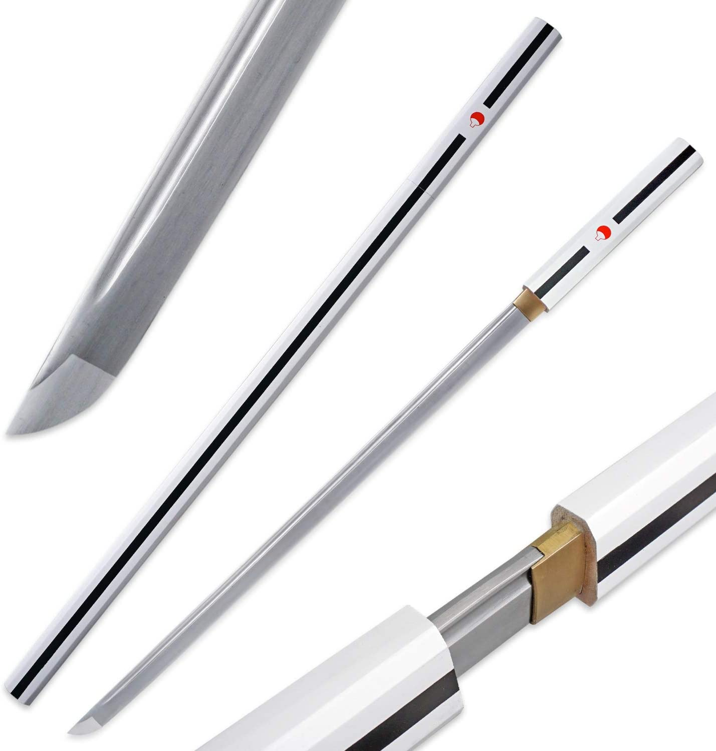 Zisu Sharp Katana for Real Battle Tang 1045 Full Steel Rapid rise Carbon Sale Special Price
