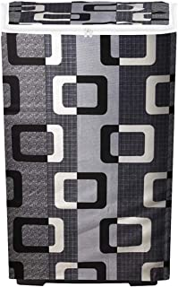 Shinzo Enterprises Top Load Washing Machine Cover Suitable for - 6 kg, 6.5 Kg, 7 Kg, 7.5 Kg (Grey)