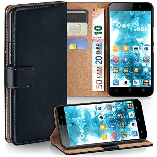 MoEx® Booklet mit Flip Funktion [360 Grad Voll-Schutz] für Huawei Honor 4X   Geldfach & Kartenfach + Stand-Funktion & Magnet-Verschluss, Schwarz