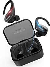 Brdoogu True Wireless Earbuds Bluetooth 5.0,Clear Sound, Stereo Earphones in-Ear Built-in Mic,50H Playtime, IPX5 Waterproof Wireless Earphones for Sport, Home Office,Titanium Black