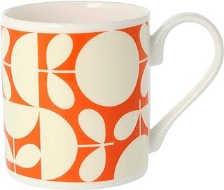 Orla Kiely Patchwork Mug Colour: Orla Kiely Orange