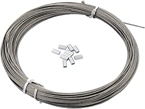 Best 1 2 steel cable Reviews