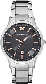 Emporio Armani Gents Wrist Watch, Silver, AR2514