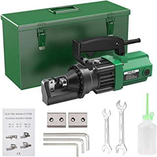 Anbull 900W Electric RebarCutter, Cutting up to 5/8 Inch 4-16mm #5 Rebar, with Replaceable Jaw Blades, Cutting Speed 2.5-...