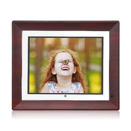 BSIMB Digital Picture Frame Digital Photo Frame 9 Inch IPS Display 1067x800(4:3) Hi-Res Digital Photo & HD Video Frame with Motion Sensor USB/SD Card Playback Calendar Remote Control M09(None WiFi)
