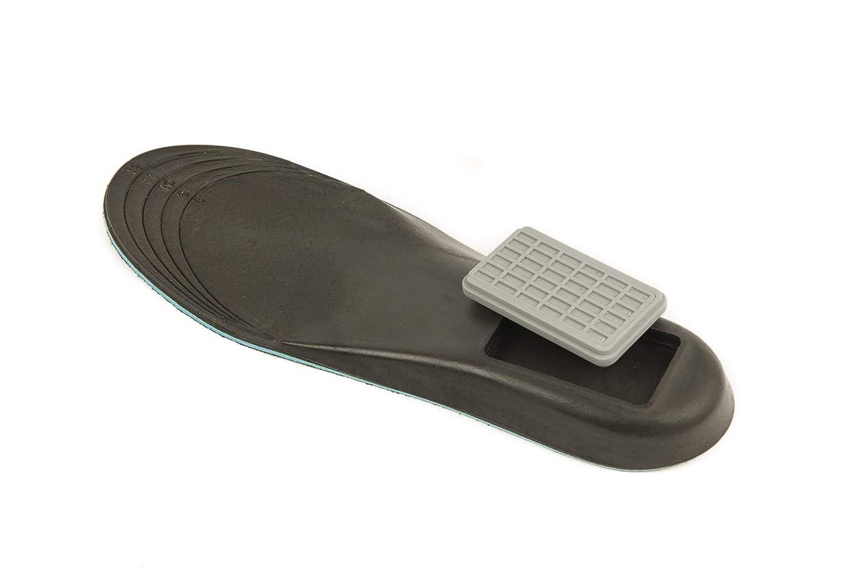 ピアニスト揮発性運河収納ソール - 目立たないで快適な靴収納 - 靴のサイズ8~12に適合 - 現金、鍵、薬、その他を保管するのに最適 - ポリウレタンフォーム製調整可能インソール - ポリカーボネート容器