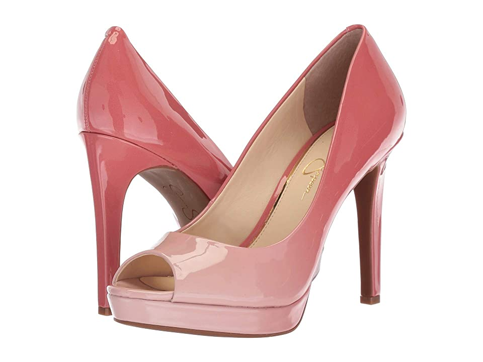 Jessica Simpson Dalyn (Pink Pearl Ombre Pantent) High Heels