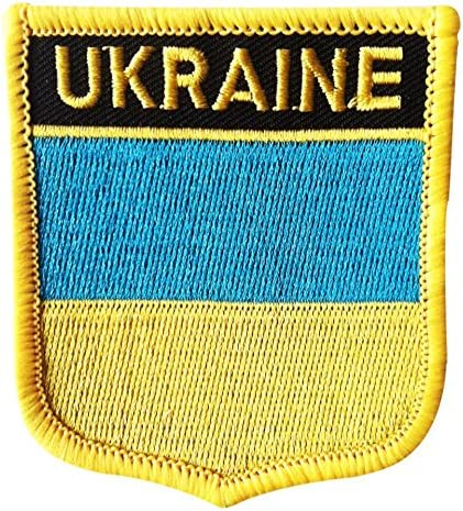 Ukraine Country Flag Embroidered Patch T9