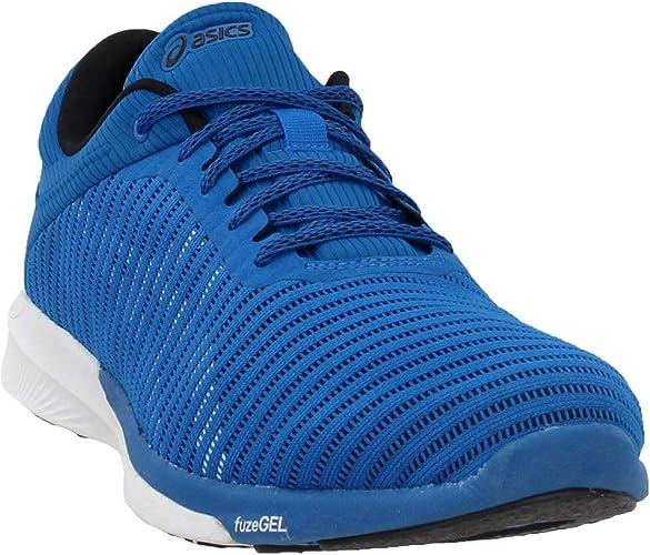 ASICS Mens fuzeX Rush Adapt Running chaussures, Race bleu blanc, Taille 11.5