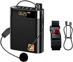 ExH Voice Versterker voor Leraars,5 W 2000 mAh Professionele Voice Versterker Headset Microfoon Headset kleine stem verste...