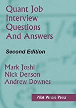 Quant Job Interview Questions and Answers (Second Edition) best Job Interview Books