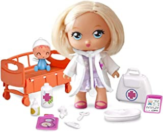 comprar comparacion Barriguitas- Doctora en la Clínica, con 1 muñeca y 1 bebé paciente (Famosa 700014252)